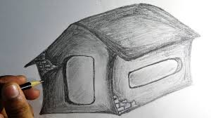 how to draw house pencil drawing easy drawing with narration