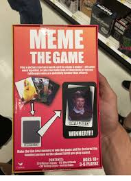 Meme The Game - meme the game play a picture card on a word card to create a meme