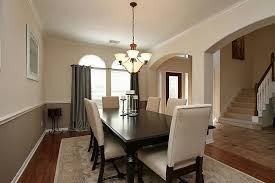 Two Tone Dining Room Paint Two Tone Dining Room Dining Room Sustainablepals Modern Two Tone
