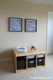 Kids Lego Room by Ikea Frame Lego Minifigure Display And Storage