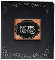 c r gibson recipe book durable 3 ring binder holds