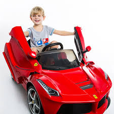 toddler motorized car 12v laferrari kids ride on car battery powered rc remote control