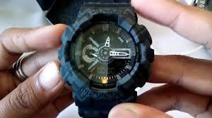 Jam Tangan Casio jam tangan casio g shock ga 110 tp 1adr original bm oem thailand