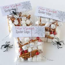 cute and creepy halloween treats and a free printable creepy