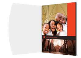 happy church visitor folder packet u0026 card template free templates