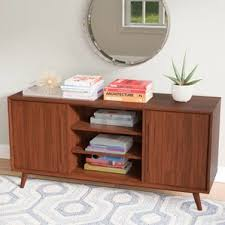 Tv Bench Sideboard Tv Cabinet Modern Tv Stands And Entertainment Centers Allmodern