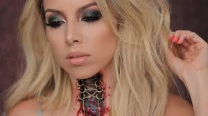 killer choker halloween makeup lustrelux youtube