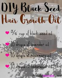 black seed for hair loss diy black seed hair growth oil recipe beautymunsta