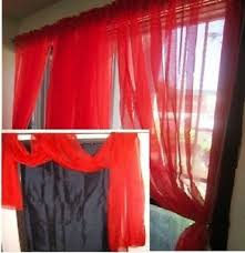 Red Scarf Valance Sheer Scarf Valance Window Treatments Elegantly Kultur Arb