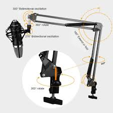 compare prices on desk mic stands online shopping buy low price