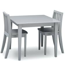american kids 5 piece wood table and chair set grey chairs 5 piece round dining set with side desk chair target cvid