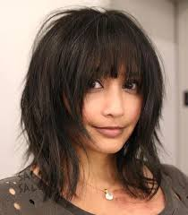 haircuts with lots of layers and bangs best 25 layers and bangs ideas on pinterest brunette bangs