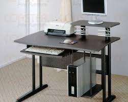Computer Desk Without Keyboard Tray Phenomenal Ideas L Corner Desk Intriguing Corner Shaped Desk Cool