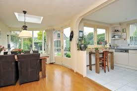 kitchen diner flooring ideas living room outstanding open plan kitchener living room photo