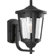 Verano Outdoor Wall Sconce by Progress Lighting East Haven 12 75 In H Black Outdoor Wall Light