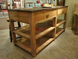 kitchen island reclaimed wood kitchen island unique rustic ideas