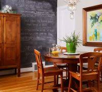 kitchen chalkboard ideas living room transitional with interior