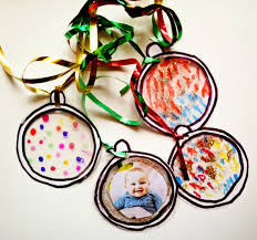ornaments laminated baubles