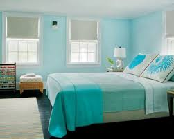 turquoise color scheme bedroom with paint colors for a bedroom