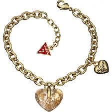 gold guess bracelet images Guess gold tone shimmering jpg