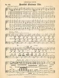 25 free printable vintage christmas sheet music beautiful