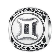 sterling silver beads pandora bracelet images Online shop star sign aquarius capricorn pisces aries taurus jpg