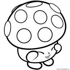 print mushroom miss mushy moo shopkins season 1s coloring pages