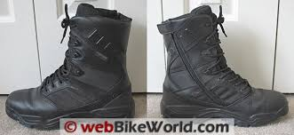 Most Comfortable Police Duty Boots Tactical Boots For Motorcycle Riding Webbikeworld