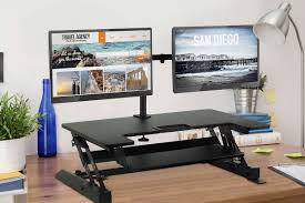 simple standing desk converter mount it sit stand standing desk converter reviews wayfair