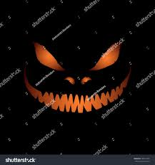 halloween black background pumpkin scary face isolated on black background stock vector 149911052