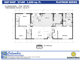 Master Bedroom Addition Cost Columbia Manufactured Homes Golden West Platinum Series Floorplans
