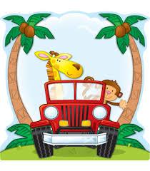 safari cartoon jungle safari two sided decoration grade pk 5 carson dellosa