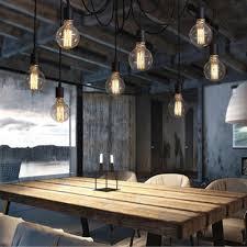 licht im wohnzimmer kagu culture vintage diy leuchter pendelleuchte mit 8 licht für