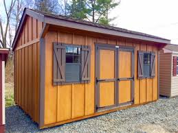 10 x 16 cottage style shed lp board u0027n u0027 batten pine creek