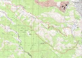 Cupertino Ca Map Montebello Road Stevens Canyon Loop Bay Area Mountain Bike Rides