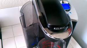 keurig b60 water pumping back to reservoir problem youtube