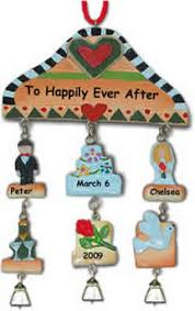 Personalized Wedding Christmas Ornaments Wedding Christmas Ornaments