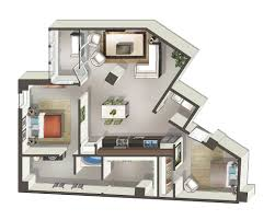 Floor Plan Of An Apartment Luxurious Mosaic Apartments In Dallas Texas Mosaic Dallas Home
