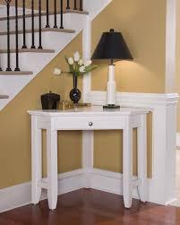Desk Ideas Diy by Under Stair Area In Home Interior With White Corner Desk Ideas