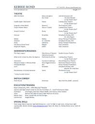 Cypress Resume Resume U2014 Kerrie Bond