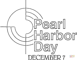 memorial coloring pages pearl harbor day coloring page free printable coloring pages
