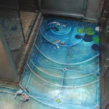 3d bathroom flooring home decor 3d flooring installation