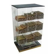 cigar humidor display cabinet roosevelt acrylic humidor cabinet 250 cigar commercial display