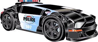 cartoon sports car black and white cartoon police car png clipart download free images in png