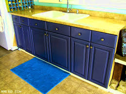Gray Paint For Kitchen Cabinets Blue Grey Painted Kitchen Cabinets Exitallergy Com