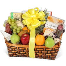 fruit basket delivery fruit gourmet cheese crackers same day delivery by