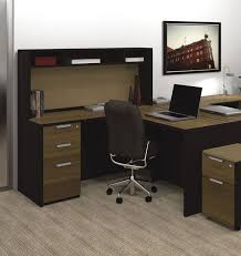 small l shaped desk with hutch guest desk decorating ideas check more at