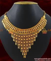 necklace design gold images Nckn196 gold plated hand made choker design arabian design net jpg