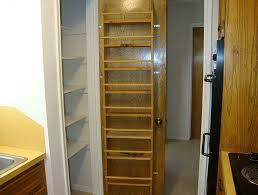 Kitchen Cabinet Door Organizer Kitchen Pantry Storage Cabinet White 4 Door U0026 Shelves Wood