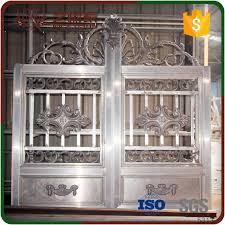 aluminum garden main gate design aluminium gates gate color